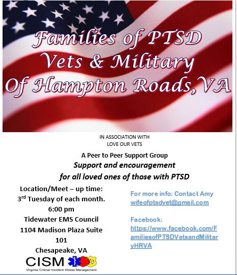 Families of PTSD Vets and Military of HRVA