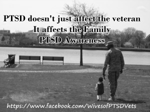 Veteran PTSD affect family